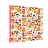 Valentina Ramos Cute Little Owls Gallery Wrapped Canvas