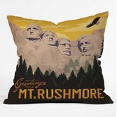 Anderson Design Group Mount Rushmore Throw Pillow
