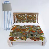 Valentina Ramos 4 Owls Duvet Cover Collection