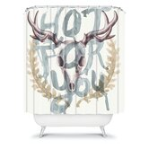 Wesley Bird Hot For You Shower Curtain