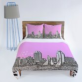 Bird Ave San Diego Duvet Cover Collection