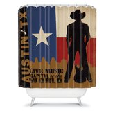 Anderson Design Group Austin Shower Curtain