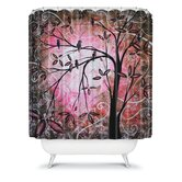 Madart Inc. Cherry Blossoms Shower Curtain