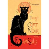 Tournee Du Chat Noir Avec Rodolptte Salis Canvas Art