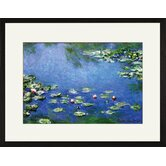 Water Lilies Framed and Matted Print