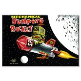 Mechanical Jumping Rocket Canvas Wall Art