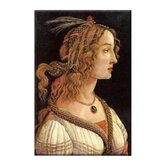 Portrait of Simonetta Vespucci Canvas Wall Art