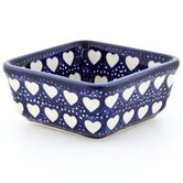 Love Hearts 5.08cm Hand-Decorated Bon Bon Dish/ Ramekin