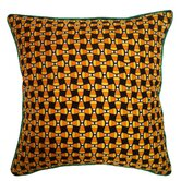 Holiday Elegance Candy Corn Pillow