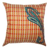Prep Plaid Paisley Pillow