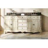 "Bella 72"" Double Bathroom Vanity"