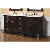 "Crest 72"" Double Bathroom Vanity"