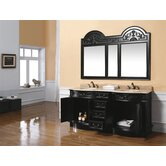 "Zara 72"" Double Bathroom Vanity"