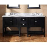 "Mesaana 72"" Double Bathroom Vanity"