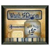 Wash Room by Linda Spivey Framed Graphic Art