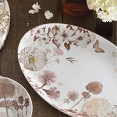 Floriography Oval Serving Tray