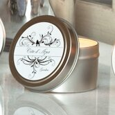Cote d'Azure Pink Pepper, Jasmine and Gardenia Travel Candle