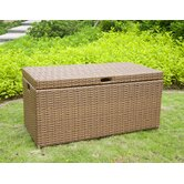 Outdoor Wicker Patio Furniture Storage Deck Box