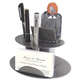 Desk Accessory Female Executive Business Card Holder