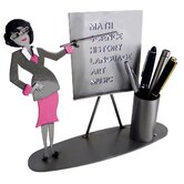 Desk Accessory Teacher Female Pen Holder