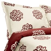 Milena 310 Thread Count Reversible Duvet / Sham Set
