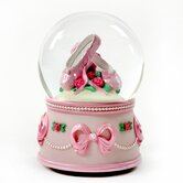 Ballerina Slippers and Bows Water Globe