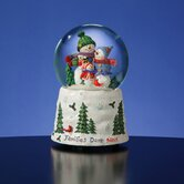 Families Don't Melt Snow Globe
