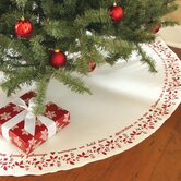Christmas Time Round Tree Skirt