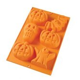 6 Cavity Halloween Mold
