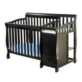 Jayden Three in One Convertible Portable Crib with Changer