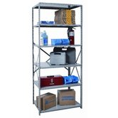 Hi-Tech Shelving Medium-Duty Open Type Starter and Optional Add-on Unit with 6 Shelves