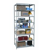 Hi-Tech Shelving Medium-Duty Open Type Starter and Optional Add-on Unit with 8 Shelves