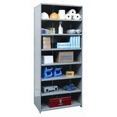Hi-Tech Shelving Extra Heavy-Duty Closed Type Starter and Optional Add-on Unit with 8 Shelves