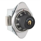 Built-In Combination Lock- Manually Operated Dead Bolt