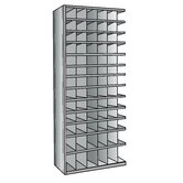 Hi-Tech Metal Bin Shelving Add-on Unit (66) 6&quot; W x 6&quot; H, (12) 6&quot; W x 9&quot; H Bins