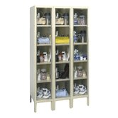 Safety-View Plus Locker 5 Tier 3 Wide (Knock-Down)