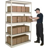 Rivetwell Shelving Double Rivet Boltless Type Starter Unit with 5 Levels