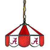 "NCAA 14"" Stained Glass Swag Lamp"