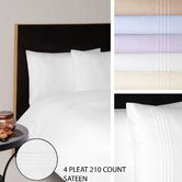 210 Thread Count Sateen Flat Sheet