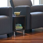 Jenny™ Upholstered Club Lounge Chair and End Table