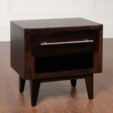 Green Bay Road 1 Drawer Nightstand