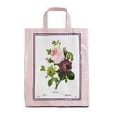 Floral Clematis Medium PVC Bag
