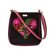 Jan Constantine Boho Heart Messenger Bag