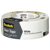 "1.88"" x 60 Yards Scotch Duct Tape in White"