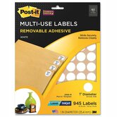Post-it Multi-Use Labels ( 945 Per Pack)