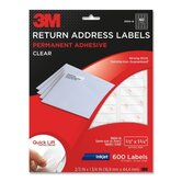 Address Label for Inkjet Printer (600 Per Pack)