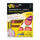Post-it Apple Identification Labels (5 Per Pack)