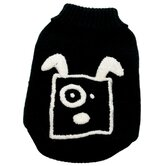 Trendy Dog Sweater in Black