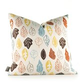 Aequorea Rhythm Collage Pillow in Cornflower