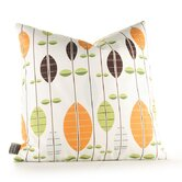 Aequorea Carousel Pillow in White and Sunshine